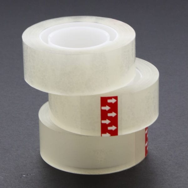 BAZIC 3//4 X 1296 Transparent Tape Refill 12//Pack