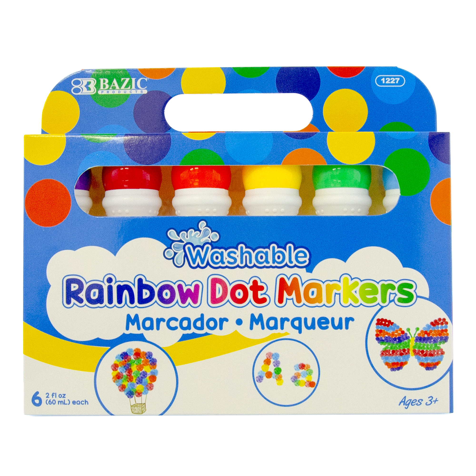 Dot Markers Washable (6 Color/Pack)