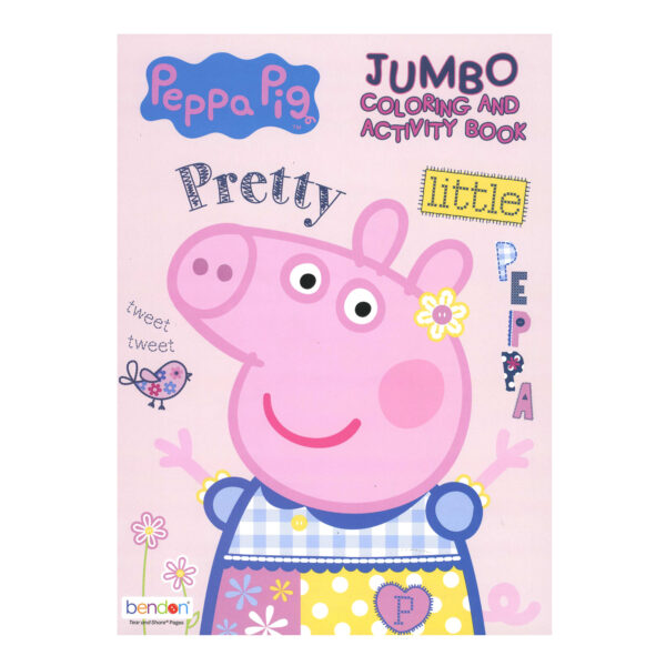 PEPPA PIG Coloring Book Bazic Products
